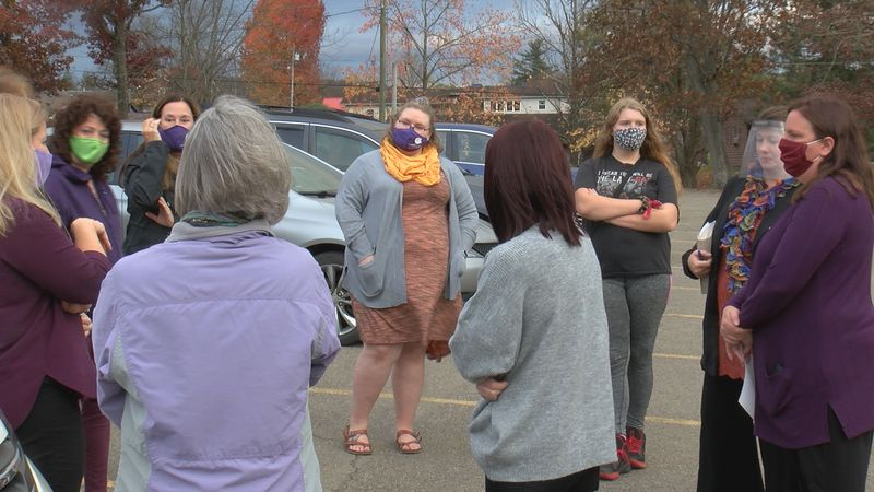 Centers Against Violence, held its annual candlelight vigil this evening in the parking lot of...