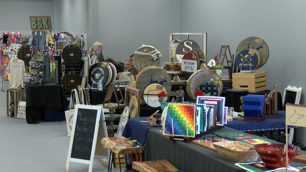 First Central West Virginia Craft Show.