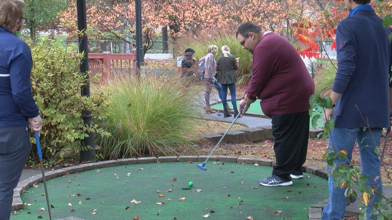 Local Rotary Clubs teamed up for a friendly competition to raise money for Polio Awareness.