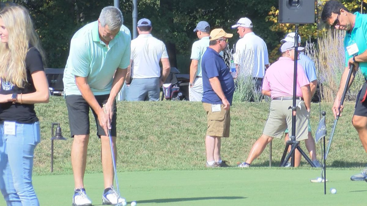 Several golfers came to the 24th annual charity golf outing at Pete Dye Golf Club in Bridgeport.