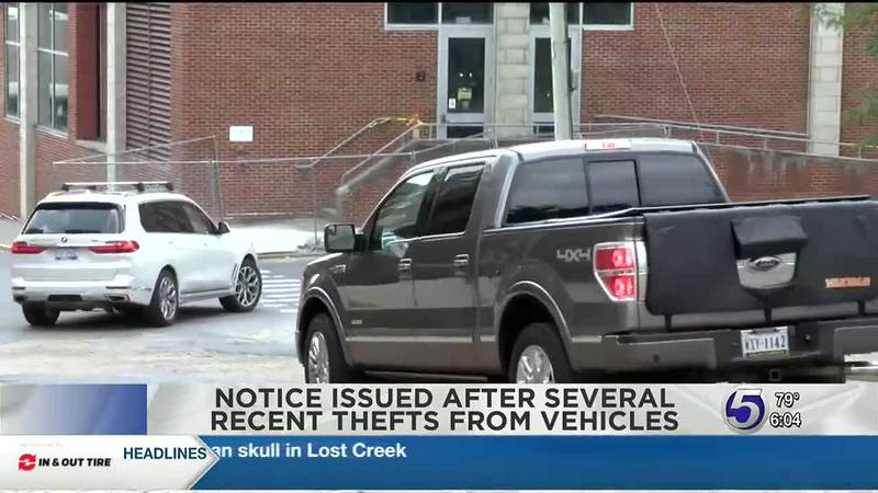 WVU Police: Theft on the rise in Monongalia County