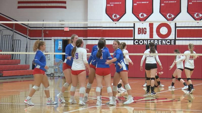 Morgantown Volleyball makes program history