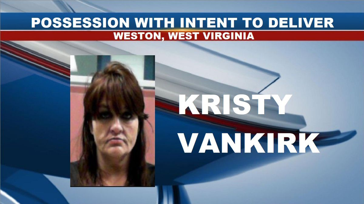 Kristy Vankirk was arrested and charged with possession with intent to deliver. (Source: Central Regional Jail)