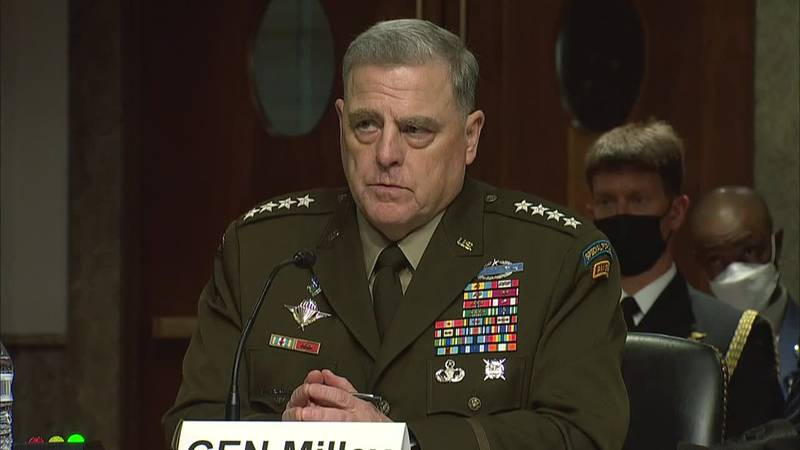 In remarks before Congress, Joint Chiefs Chairman Gen. Mark Milley calls the 20-year war in...