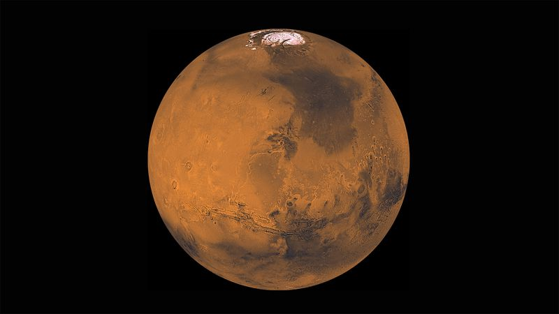 Mars and Earth are closest to each other in their orbits. That means Mars is at its brightest,...