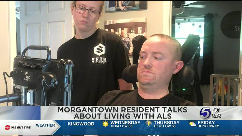 Morgantown resident talks about living with ALS