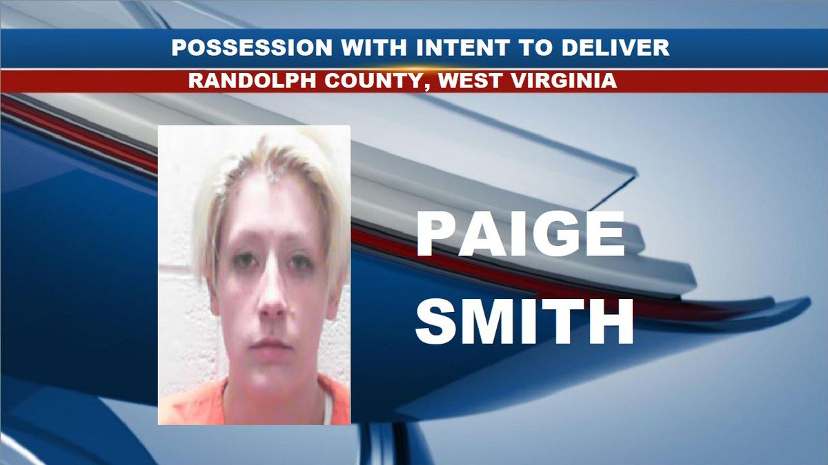 Paige Smith was arrested and charged with possession with intent to deliver. (Source: Tygart Valley Regional Jail)