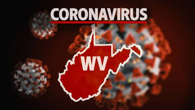 Coronavirus cases in West Virginia