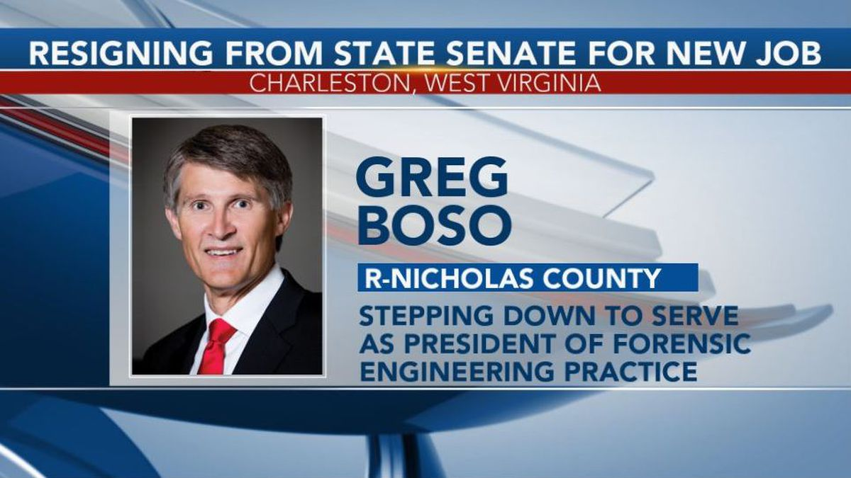 West Virginia Sen. Greg Boso is stepping down from his seat. (Picture Credit: West Virginia...
