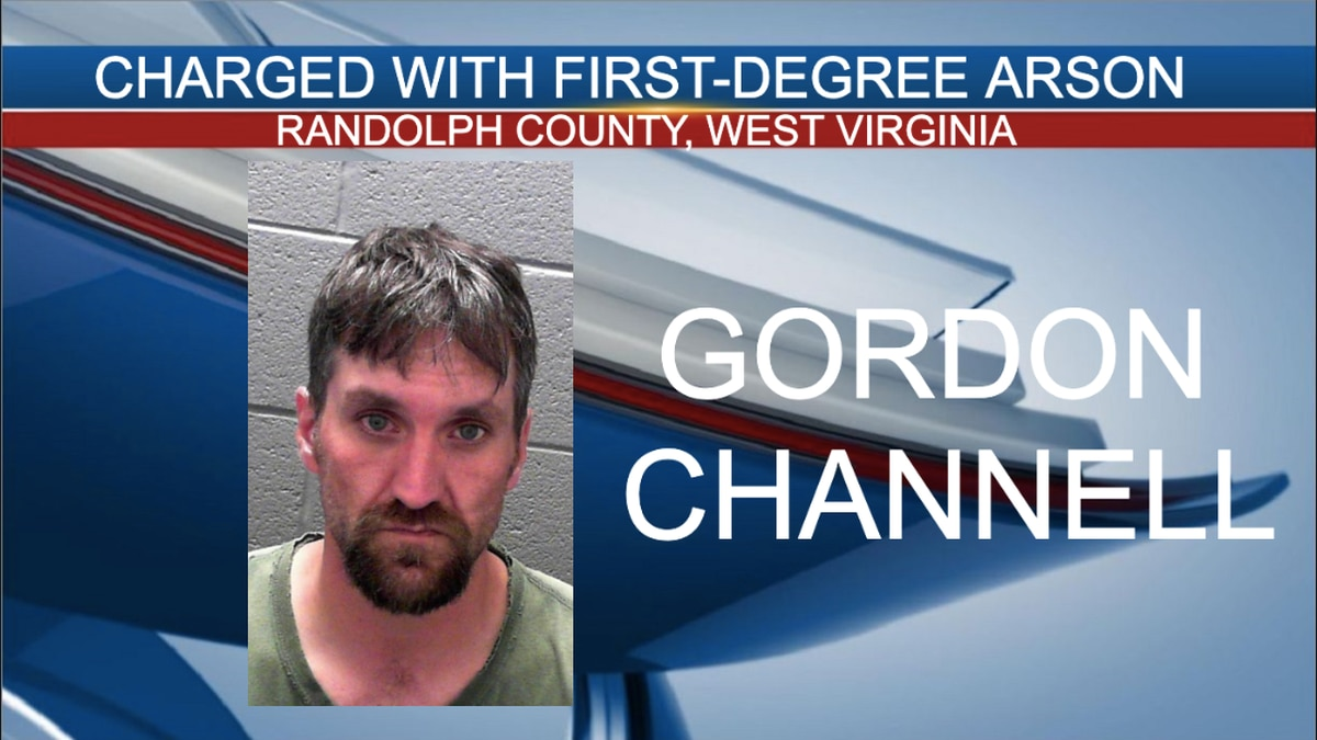 Gordon Channell was arrested and charged with first-degree arson.