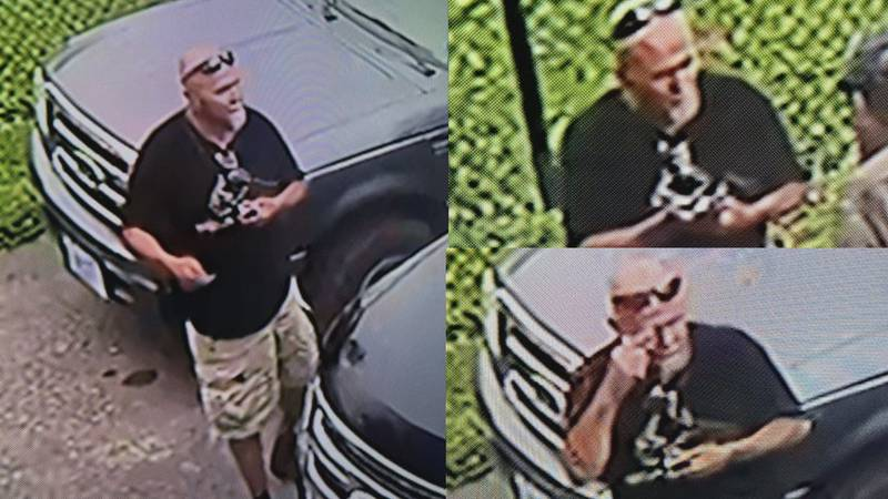Harrison County Sheriff's Office ask for help identifying man wanted for felony destruction of...