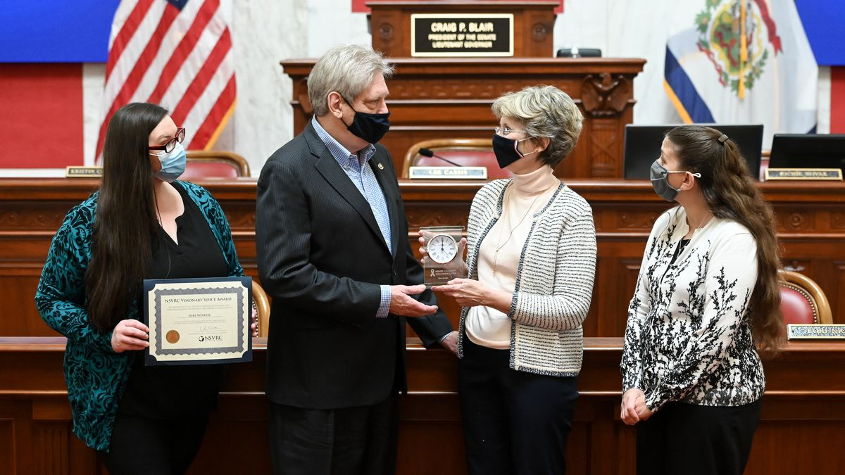 Senator Mike Woelfel, D-Cabell, has been named the 2020 Visionary Voice Award recipient from...