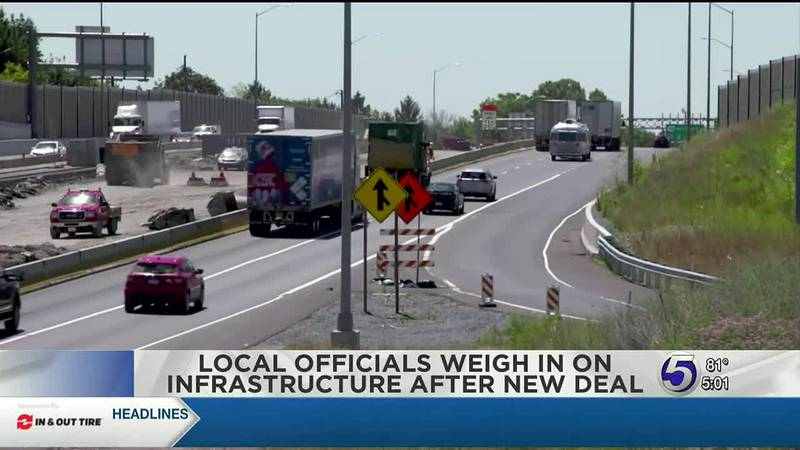 Local officials weight in on infrastructure after new deal