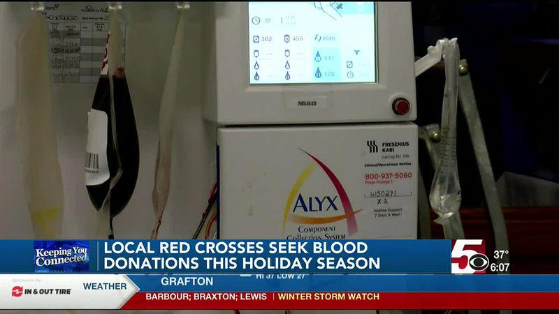 Local Red Crosses seek blood donations