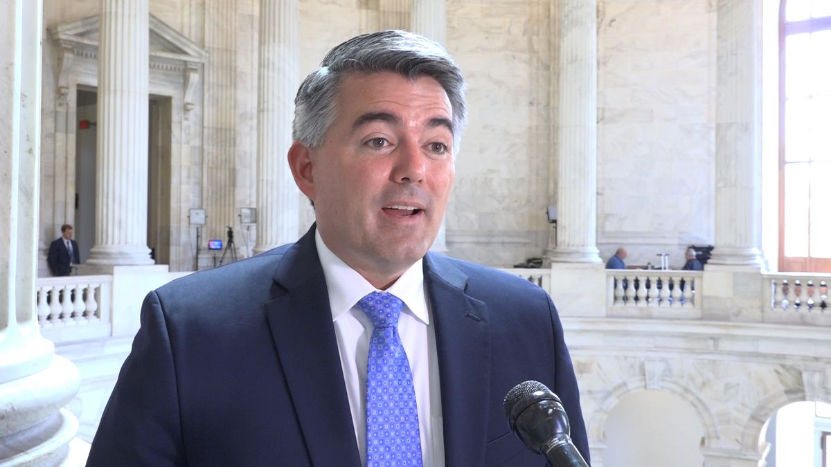 Colorado's Sen. Cory Gardner (R-CO) discusses why he helped introduce the legislation to permanently reauthorize the Bulletproof Vest Partnership Program. (Source: GrayDC)