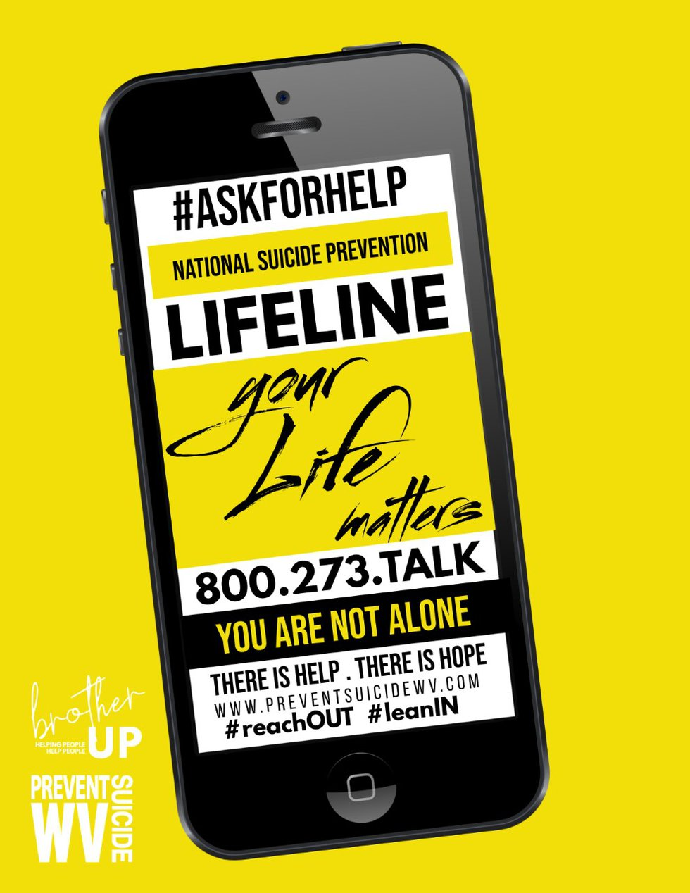 Anyone thinking about suicide can call 800-273-8255, the lifeline number or text HOME to 741741.