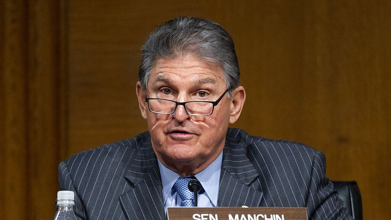 Committee Ranking Member Sen. Joe Manchin, D-WVa. (Jim Watson/Pool via AP)