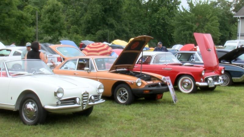 Car Show to raise money for local Rotary Club.
