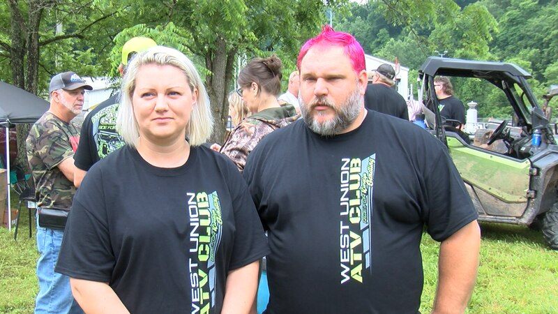 A benefit ride for a young woman with a brain tumor.