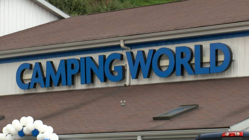 Camping World holds grand opening in Fairmont.