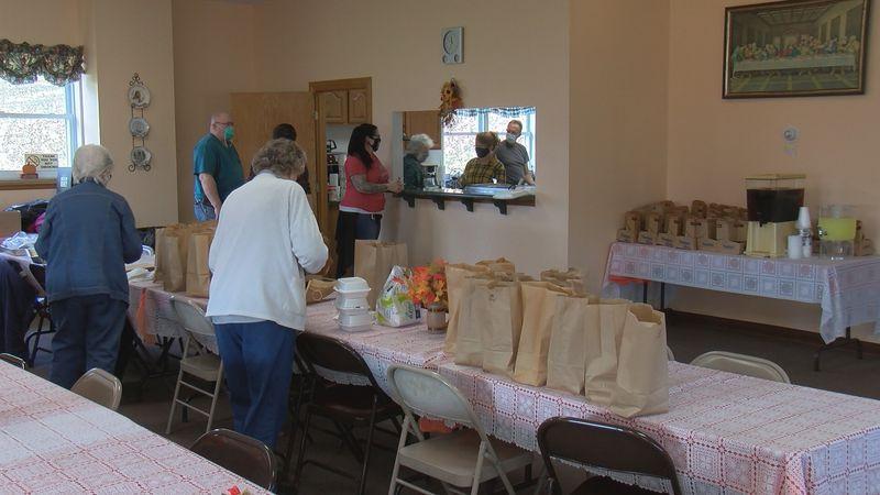 Local church holds an annual Thanksgiving Dinner fundraiser despite the pandemic.