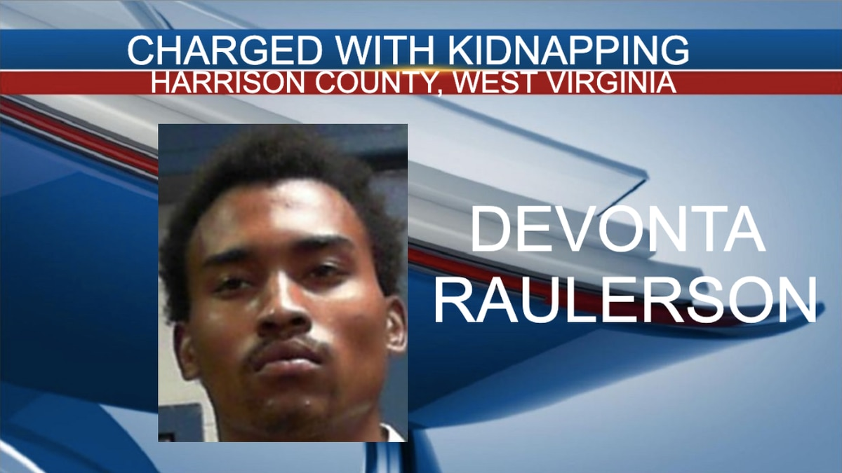 Devonta Raulerson, 18, of Waynesburg, Pennsylvania, has been charged with kidnapping.