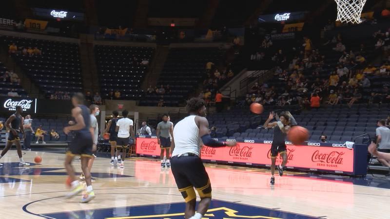 WVU men's basketball