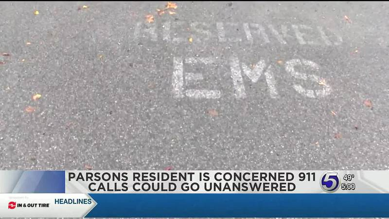 Parsons resident is concerned 911 calls could go unanswered.
