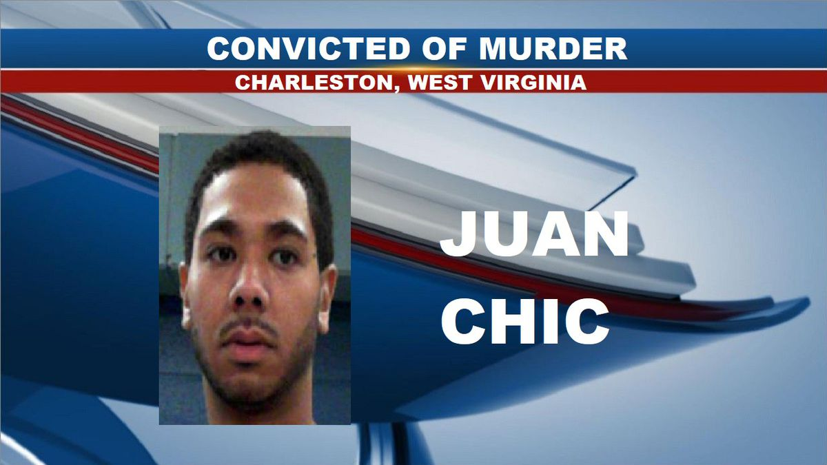 Juan Chic, 30, was found guilty in Kanawha Circuit Court of murdering 27-year-old Andre Leonard in August 2018. (Source: South Western Regional Jail)