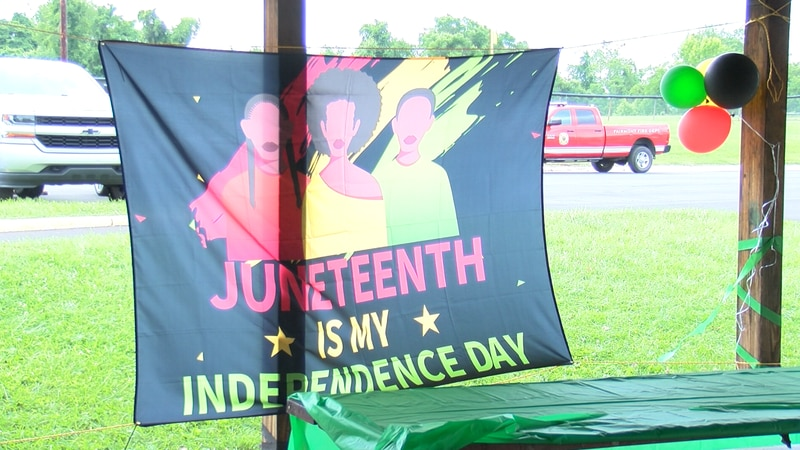 New group takes over Fairmont's yearly Juneteenth celebration.