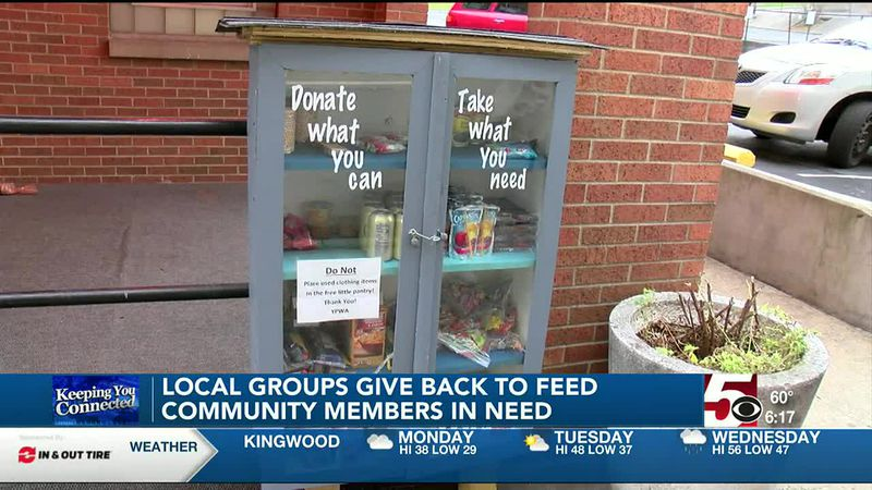 Local groups feed those in need
