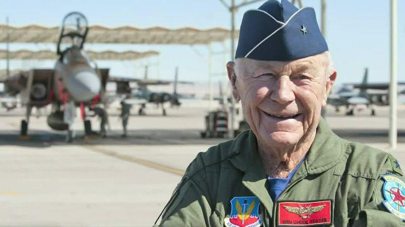 People are mourning the death of a World War 2 pilot who was the first to break the sound...
