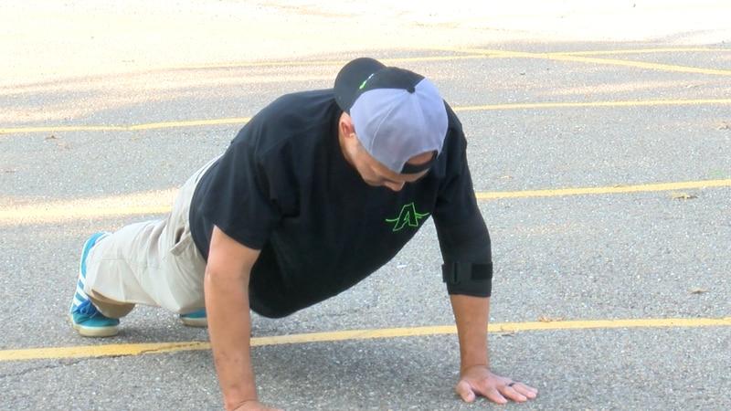 22 Pushup Challenge at Clarksburg VA Park.