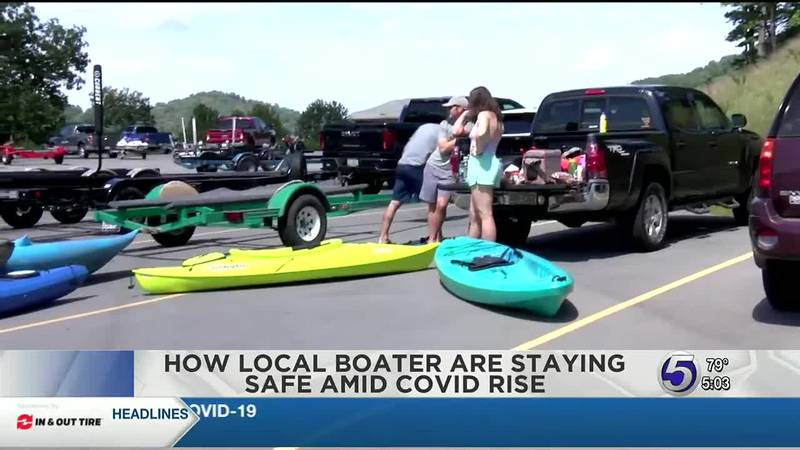 How local boaters are staying safe amid covid surge.
