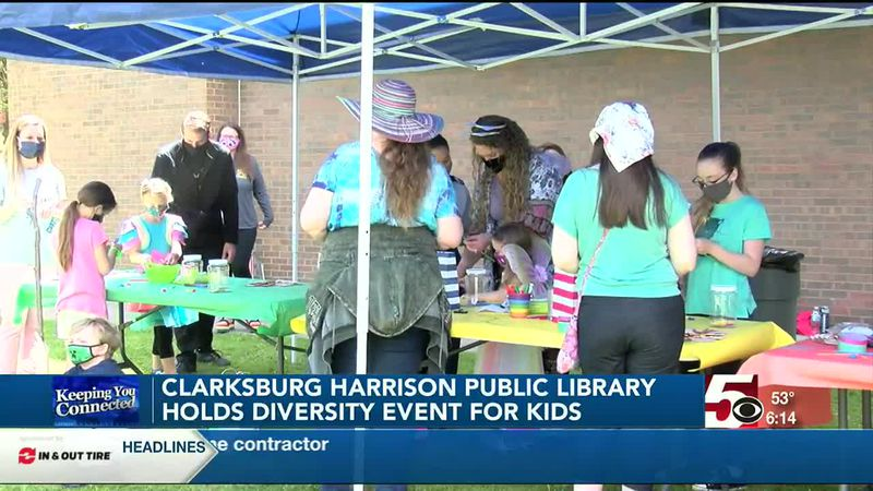 Clarksburg-Harrison Public Library holds diversity event for kids and teens