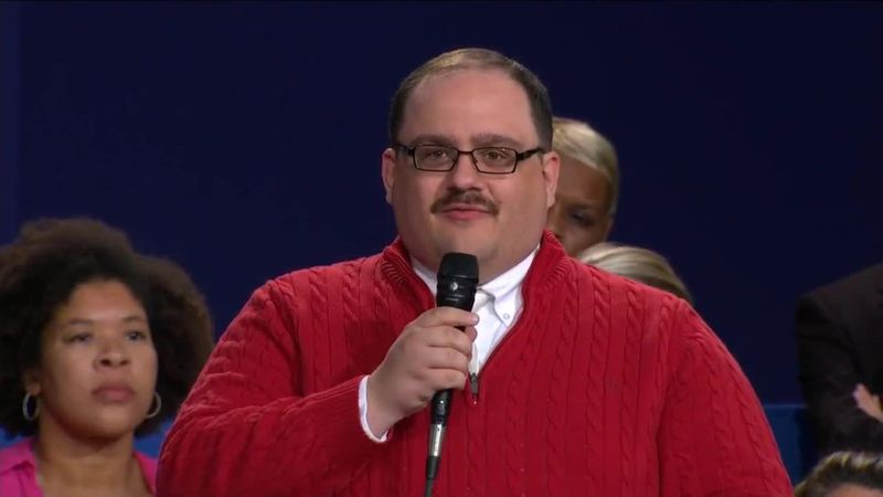 Ken Bone has revealed his 2020 presidential vote.