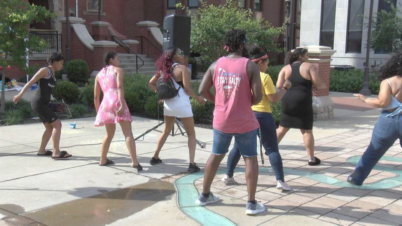 Morgantown residents come together for Juneteenth.