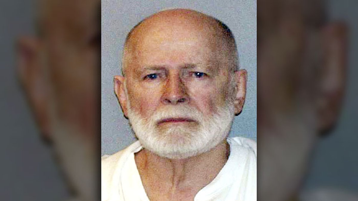 """James """"Whitey"""" Bulger (Sept. 3, 1929 - Oct. 30, 2018) - The notorious gangster and feared..."""