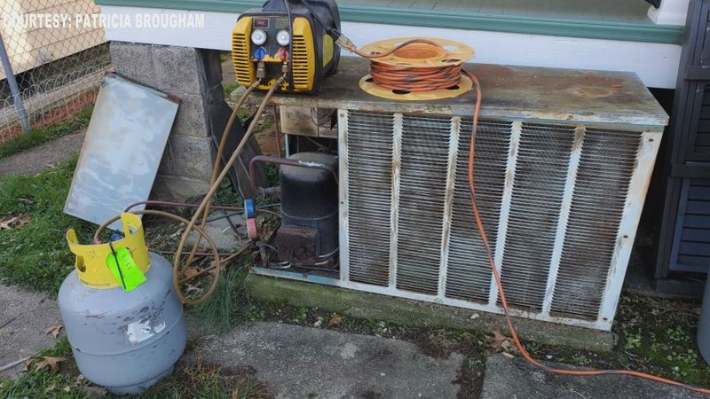 Brougham says it was too expensive to replace her A/C unit