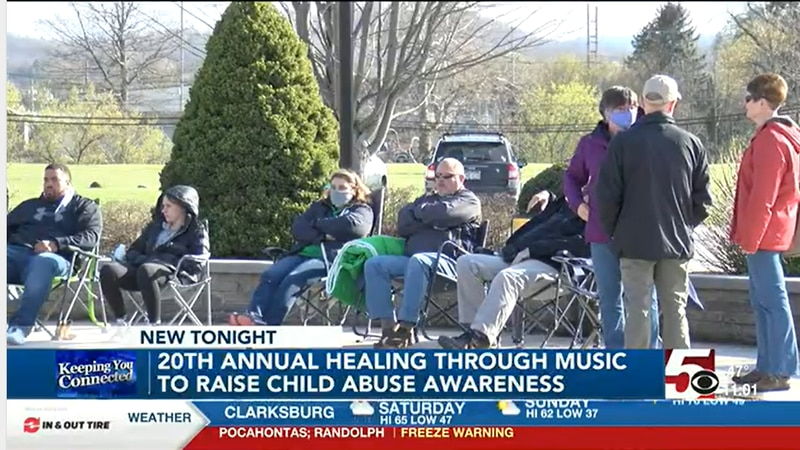 Centers Against Violence hold concert to raise Child Abuse Prevention Awareness.