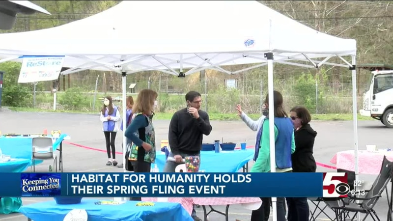Habitat for Humanity holds their first Spring Fling