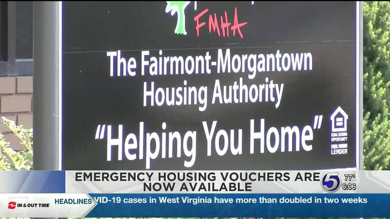 Emergency housing vouchers now available to eligible West Virginia residents to combat...
