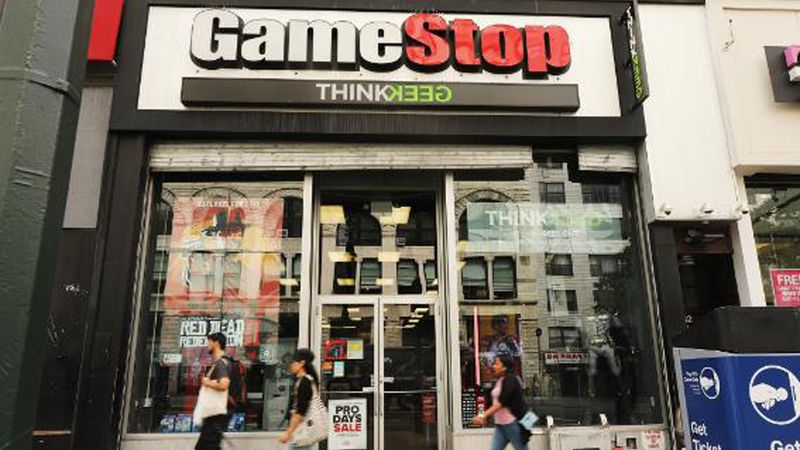 GameStop shares rose as high as $380 Wednesday morning, after sitting below $18 a few weeks ago.