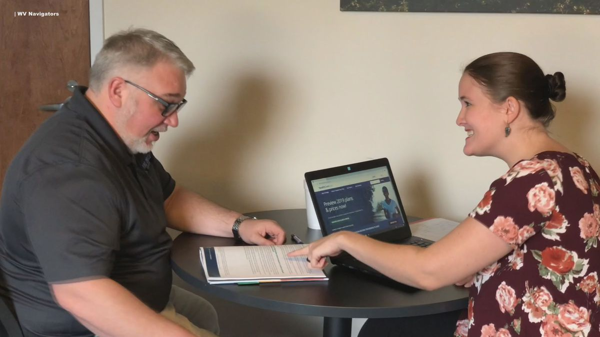 The WV Navigator held a news conference Friday to help West Virginians learn more about...