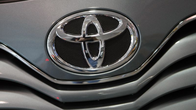 The Toyota logo (AP Photo/Alan Diaz)