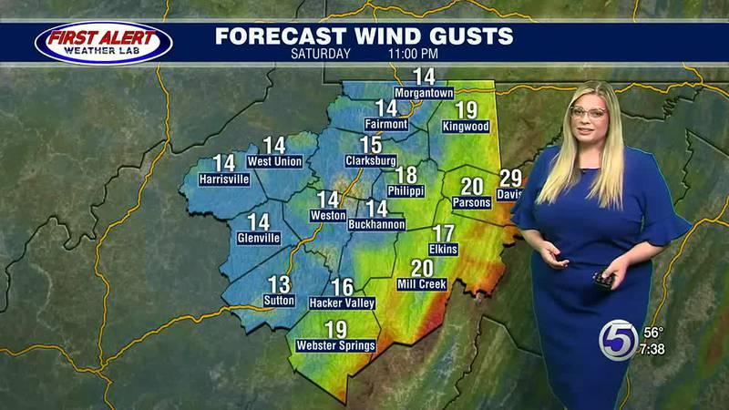 Kayla Smith's Saturday Evening Forecast