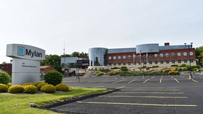 The Mylan plant in Morgantown.