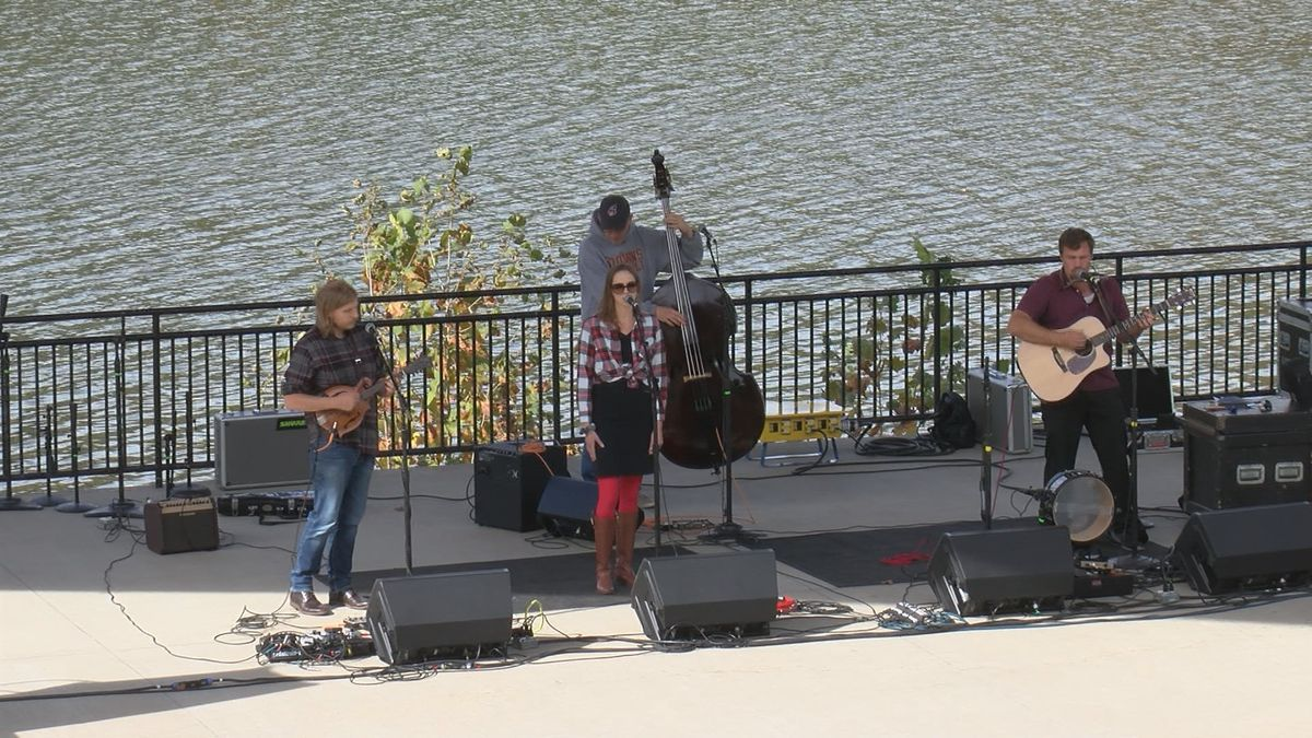 The city of Morgantown held a live performance at newly renovated Hazel Ruby McQuain Park.