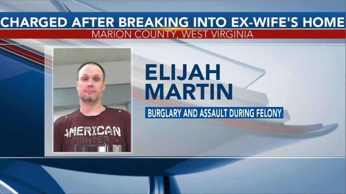 Elijah Martin was arrested and charged with burglary and assault during a felony. (Picture Courtesy: North Central Regional Jail)