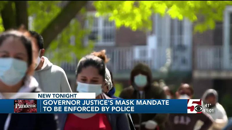 Mask mandate could be enforced by police